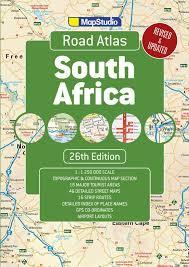 africa map atlas road atlas south africa a detailed map of south africa 26th
