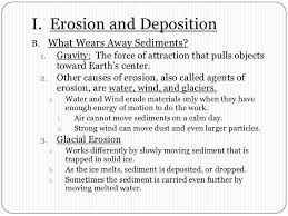 chapter 8 section 1 erosion by gravity