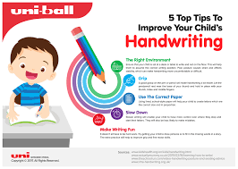 how to make a child s desk how to improve your child s handwriting infographic e learning