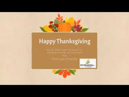 say thanks for your customers send a happy thanksgiving