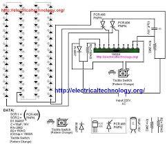 led string strip circuit diagram using pcr 406 electrical
