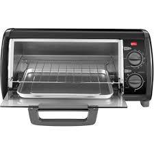 Black And Decker Stainless Toaster Oven Black U0026 Decker 4 Slice Toaster Oven Walmart Com