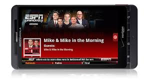 espn app for android espn radio s android app espn radio espn