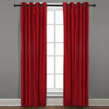 curtains amusing red curtains ideas brick red curtains red