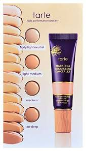 tarte light medium neutral amazon com tarte maracuja creaseless concealer sle card fairly