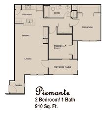 Floor Plan Description by Piemonte Jpg