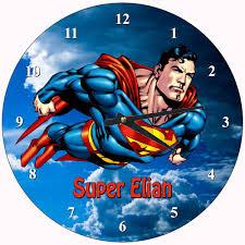 superman clock ebay