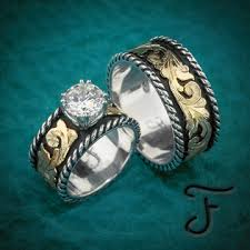 western wedding rings wedding sets western inspired handcrafted jewelry