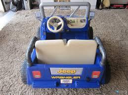 barbie jeep power wheels picked up a power wheels jeep