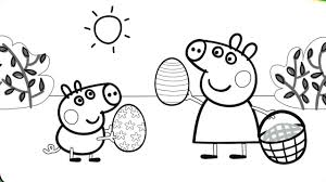 coloring peppa pig coloring book peppa and george youtube