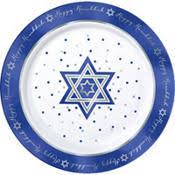 hanukkah plates hanukkah tableware hanukkah plates party city