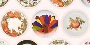 thanksgiving medley thanksgiving plates dinnerware best plate 2017