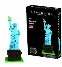 amazon com nanoblock statue of liberty toys u0026 games
