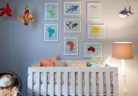 déco murale chambre bébé design interieur décoration murale chambre bébé cartes continents