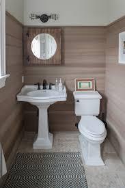 Vintage Powder Room Coastal Style Bathrooms Sea Green Designs Llc
