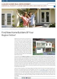 find new home builders of your region online