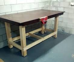 Simple Work Bench Table Breathtaking Easy To Build Simple Workbench Youtube Table