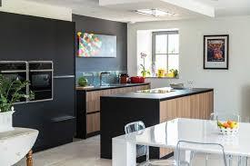 cuisine noir et jaune cuisine et bois cuisine noir magazine et jaune chene