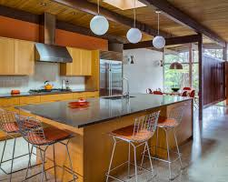 kitchen island instead of table remaking midcentury modern in portland curbed