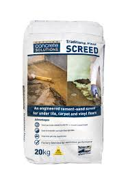 concrete solutions traditional floor screed tilers trade centre