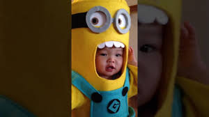 Toddler Minion Costume Minions Stick Together Kids In Minion Costumes Youtube