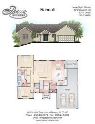 floor plans basso builders