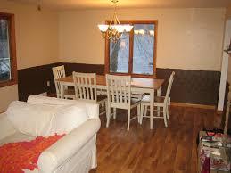 chair rail in living room u2014 modern home interiors cutting