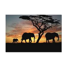 Home Decor Elephants Online Get Cheap African Elephant Family Aliexpress Com Alibaba