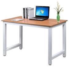 A Computer Desk Yaheetech Modern Simple Computer Desk Corner Desk Pc