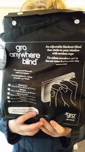 Gro Company Blackout Blind Inside Martyn U0027s Thoughts Review Gro Anywhere Blind