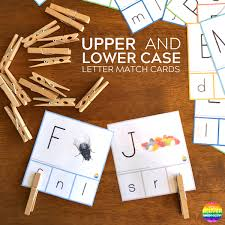how to cleverly teach children upper case letters you clever monkey