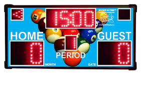 shot clocks game show scoring systems game room scoreboards
