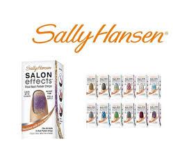 amazon com sally hansen salon effects real nail polish strips