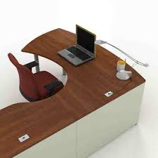 Wrap Around Computer Desk Morpheo Collection By Lacasse Office Furniture