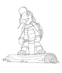 coloring franklin coloring pages 12