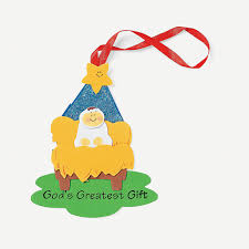 god u0027s greatest gift u201d christmas ornament craft kit