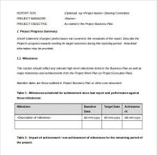 report to senior management template sle management report to board of directors professional and