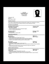 Sample Resume For Applying Job by Free Resume Templates 81 Stunning Microsoft Word Best Templates