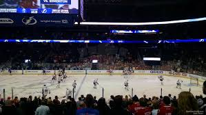 lexus of tampa bay reviews amalie arena section 130 tampa bay lightning rateyourseats com