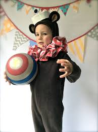bear halloween costume circus bear with hat and by boobahblue