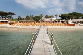 tahiti beach hotel official site hotel pampelonne golfe de