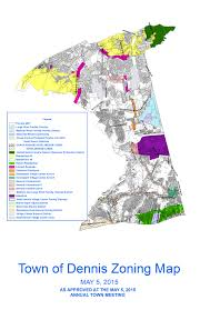 Map Of Cape Cod Ma Zoning Map Town Of Dennis Ma Planning Weblog