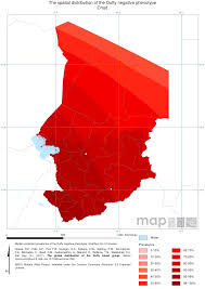 Chad Map Endemic Countries U2013 Malaria Atlas Project