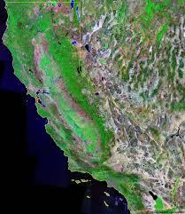 california map king city california satellite images landsat color image