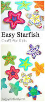 Art And Craft For Kids Of All Ages - easy starfish craft for kids with free printable template buggy