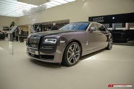 roll royce ghost geneva 2017 rolls royce ghost with diamond paint finish gtspirit