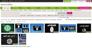 what does the black and white isis flag mean