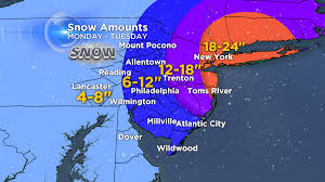 Snow Map Weather It U0027s Snow Time Cbs Philly