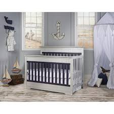 shermag jenny lind 3 in 1 convertible crib navy blue babies