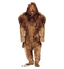 Yeti Halloween Costume Cowardly Lion Wizard Oz Cowardly Lion